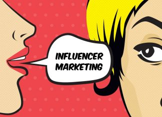 influencer marketing with themed pages