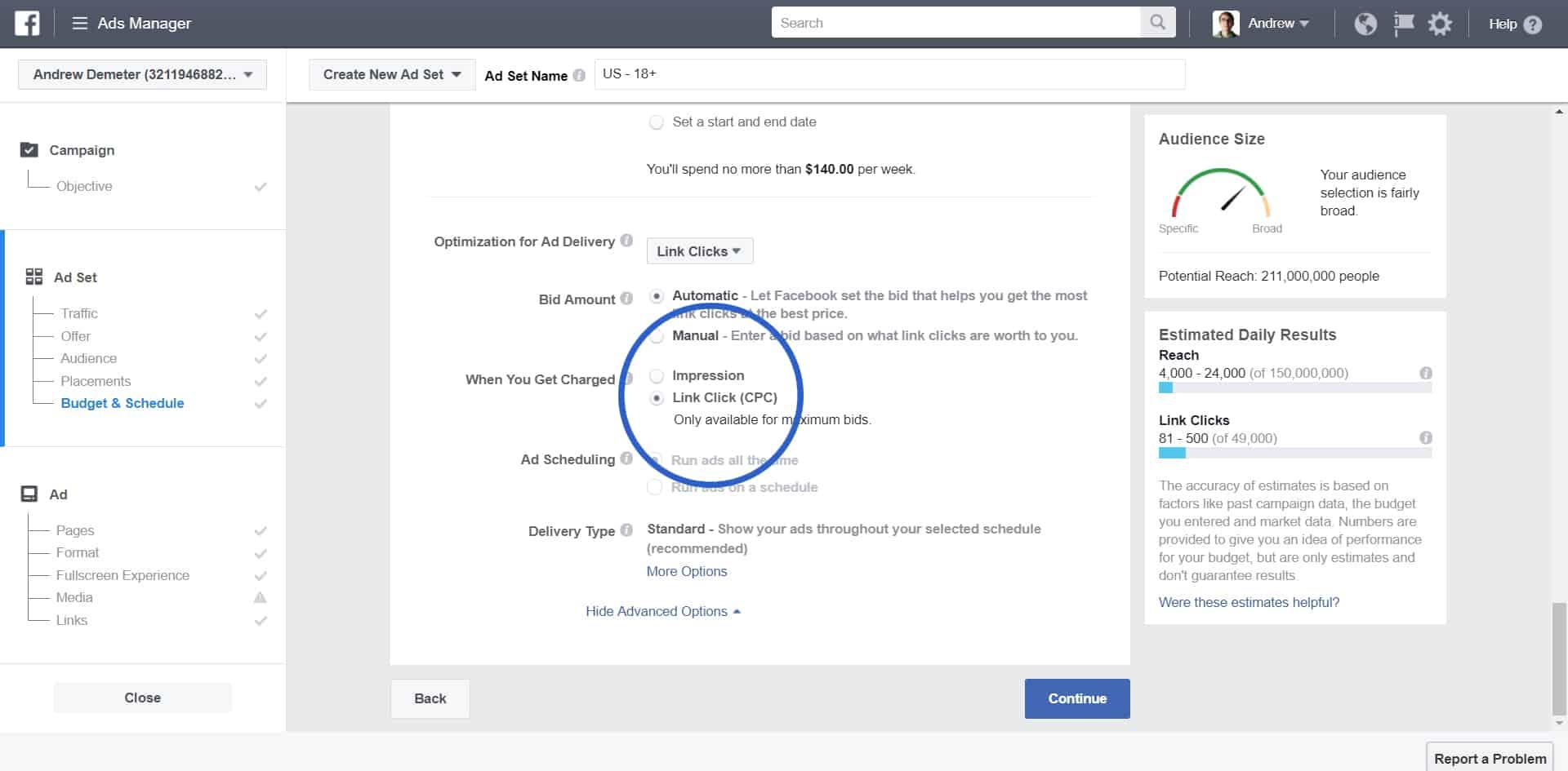 Messenger Bot Cost Per Click