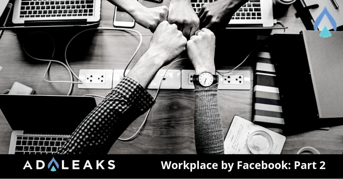 Get the detailed information on the features of Workplace.