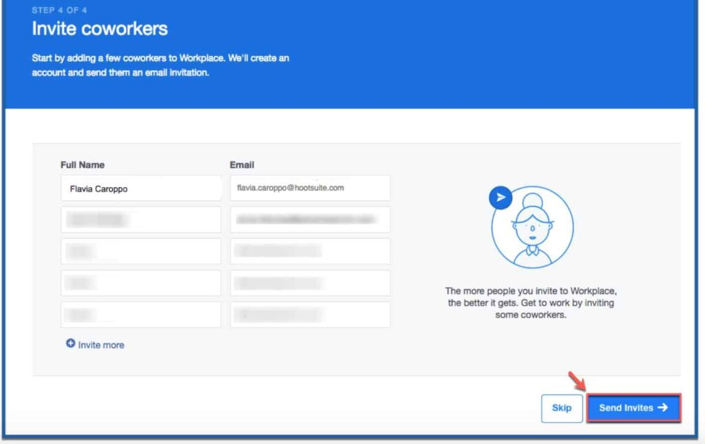 Start sending invites today and bring your employees closer than ever.