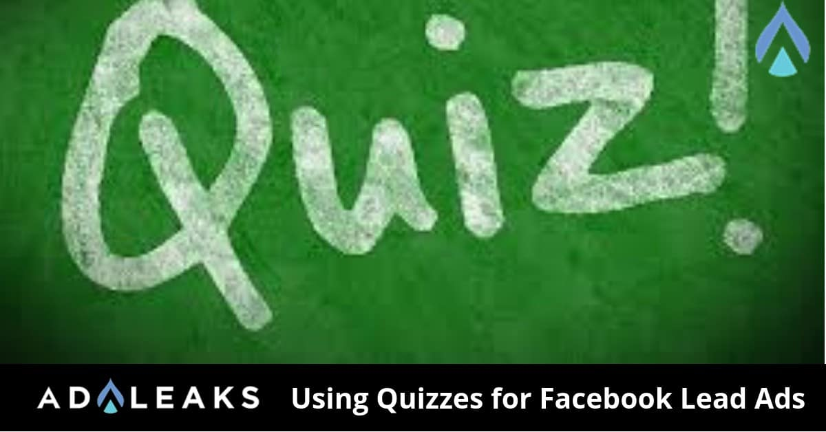 Learn why you should and how to implement quizzes into your marketing strategy on Facebook.